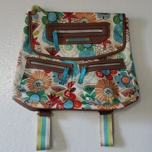 Lily Bloom convertible cross body backpack